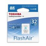 デジカメで撮影した画像を即座にスマホに転送出来る無線LAN(Wi-Fi)搭載SDカード東芝(TOSHIBA)「FlashAir™」がおすすめ