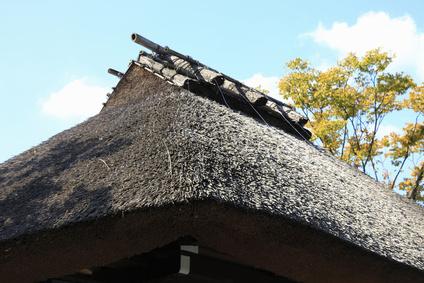 わらぶき屋根